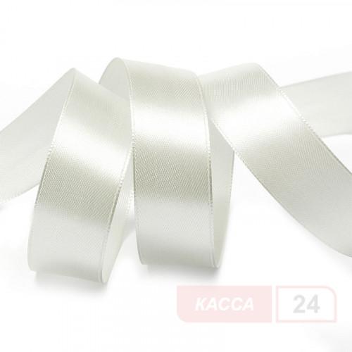 Лента сатиновая PS430 30мм*200м, белая