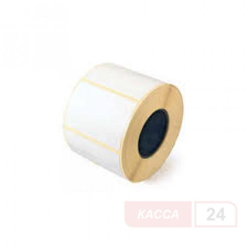 Полуглянцевая этикетка 58х40 мм