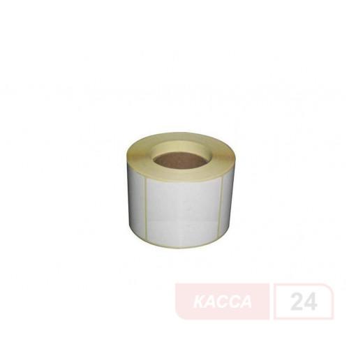 Полуглянцевая этикетка 58х60 мм