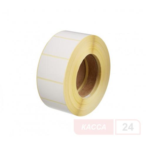 Полуглянцевая этикетка 43х25 мм